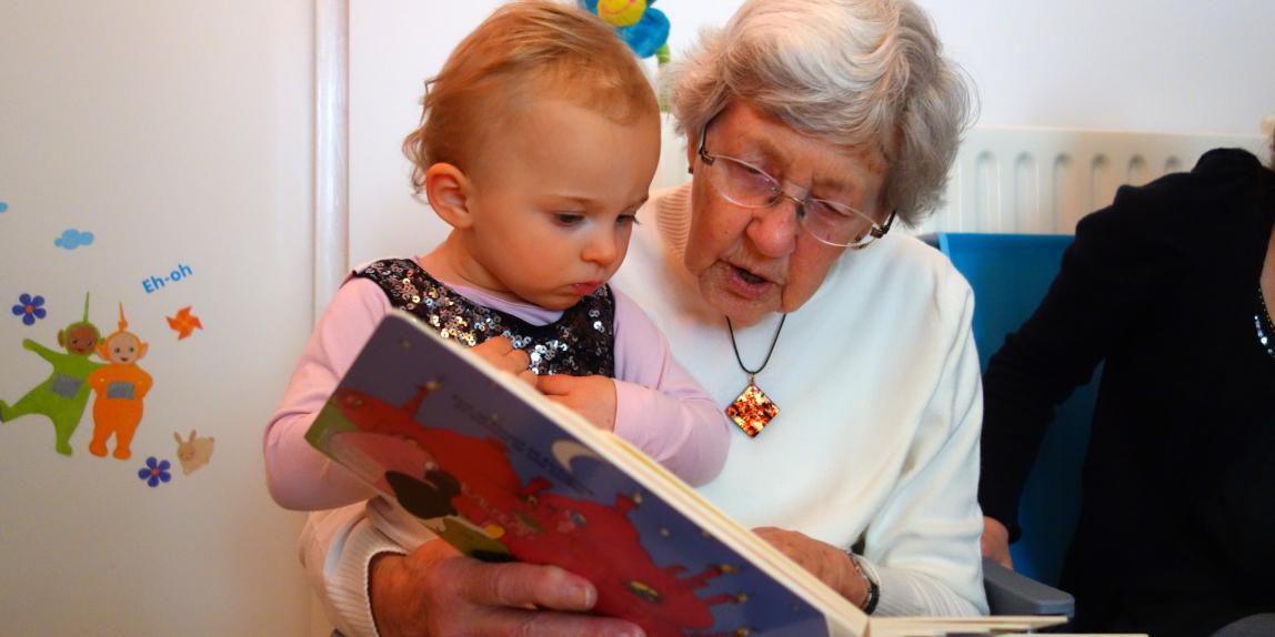 Geschichten lieben schon die Kleinsten