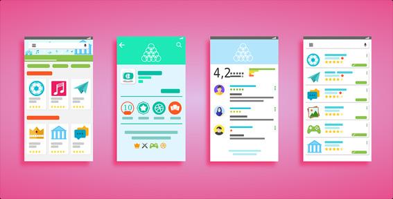 User Interface Mobile Forst
