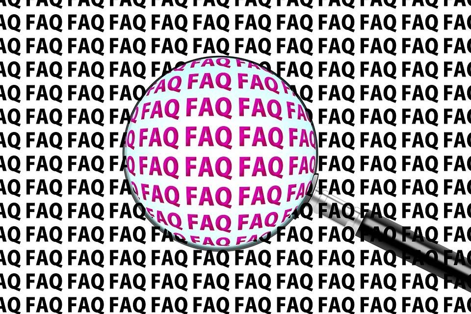 Jede Community sollte ihre FAQs beantworten